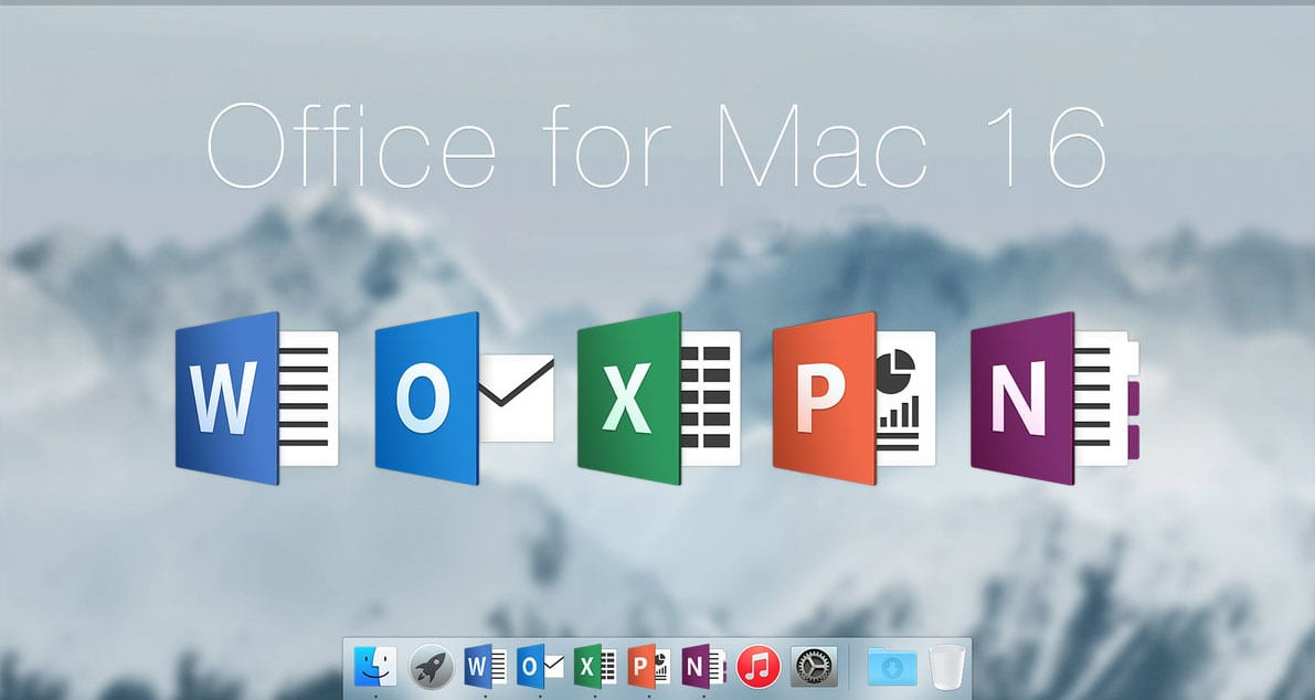 Office for Mac 16