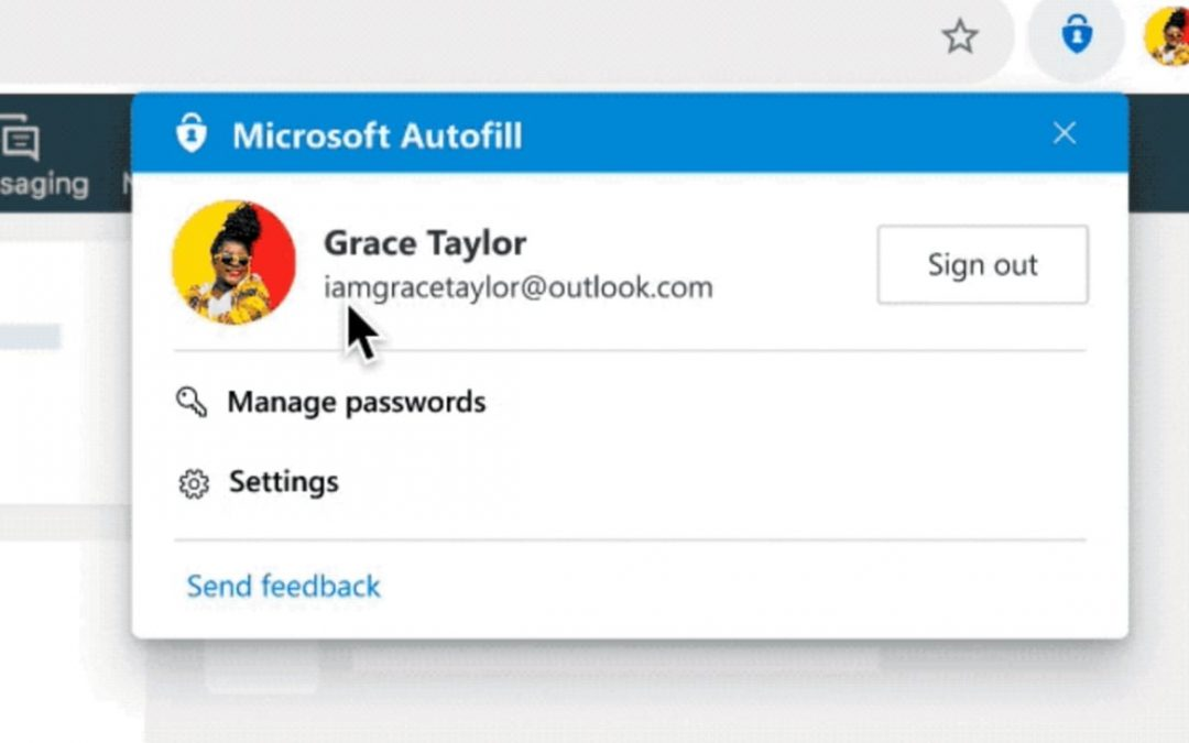 Free Password Manager by Microsoft